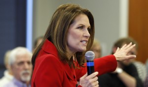 U.S. Republican presidential candidate and Minnesota Congresswoman Michele Bachmann speaks at a campaign in Iowa. Photo: Reuters.